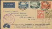 AAMC 395: 1934 (24 Jul) Official Air Mail Australia - New Guinea - Australia and onwards to New Zealand (ACFF/341)